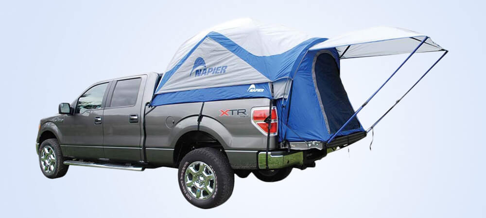 This is an ultimate truck bed tent for toyota tacoma which is launched by Napier sports