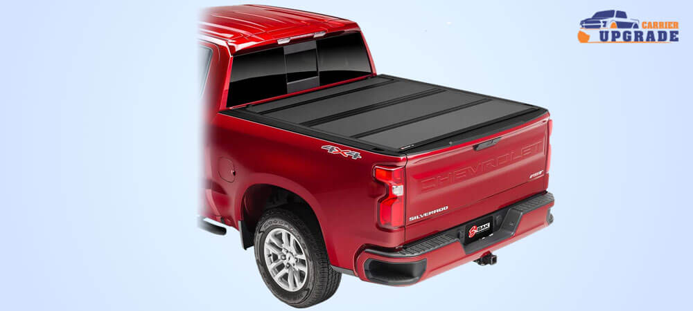 Hard folding tonneau cover by bak backflip